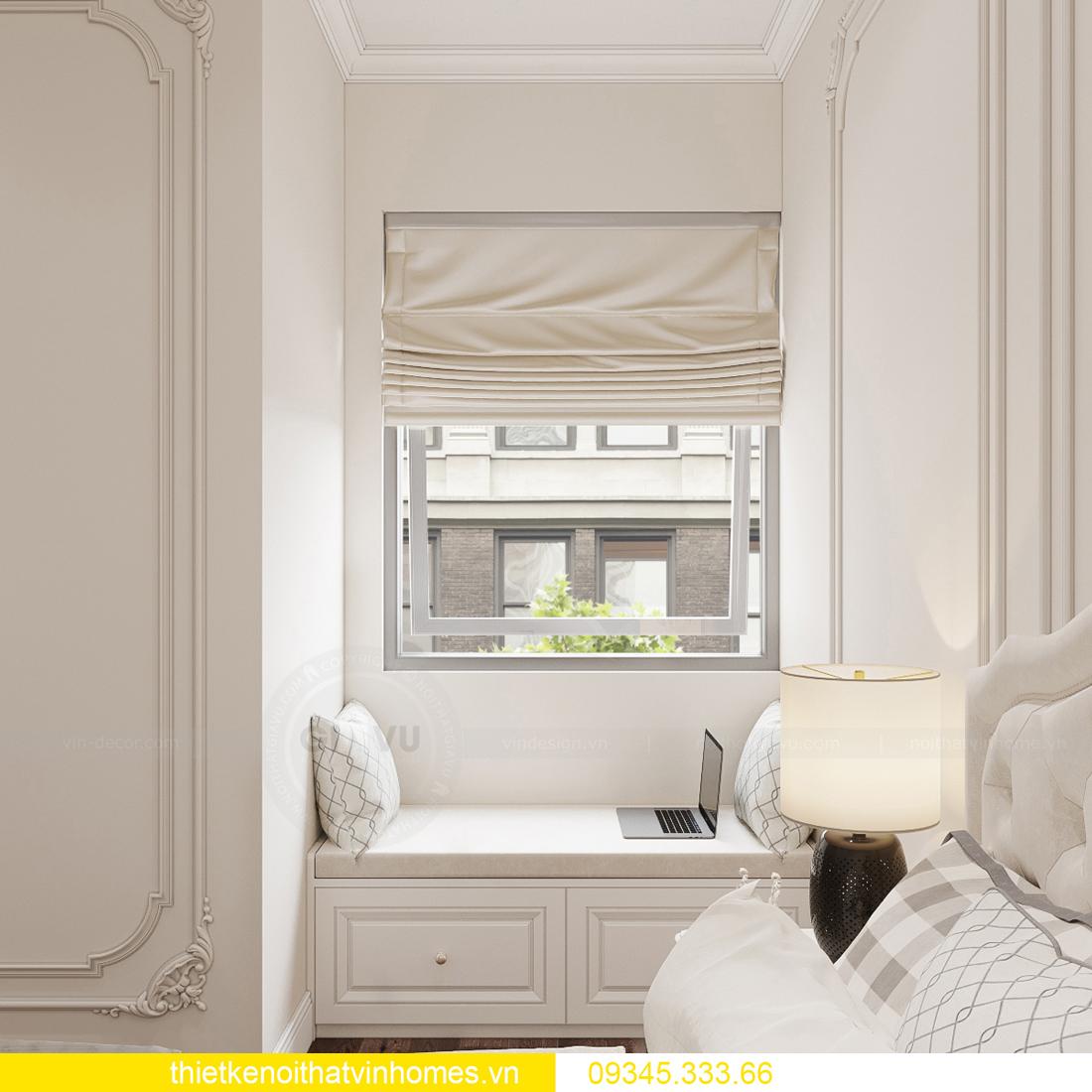 thiết kế nội thất căn hộ chung cư tân cổ điển nhà chị Như 14