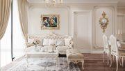 thiết kế nội thất căn hộ chung cư tân cổ điển nhà chị Như 3