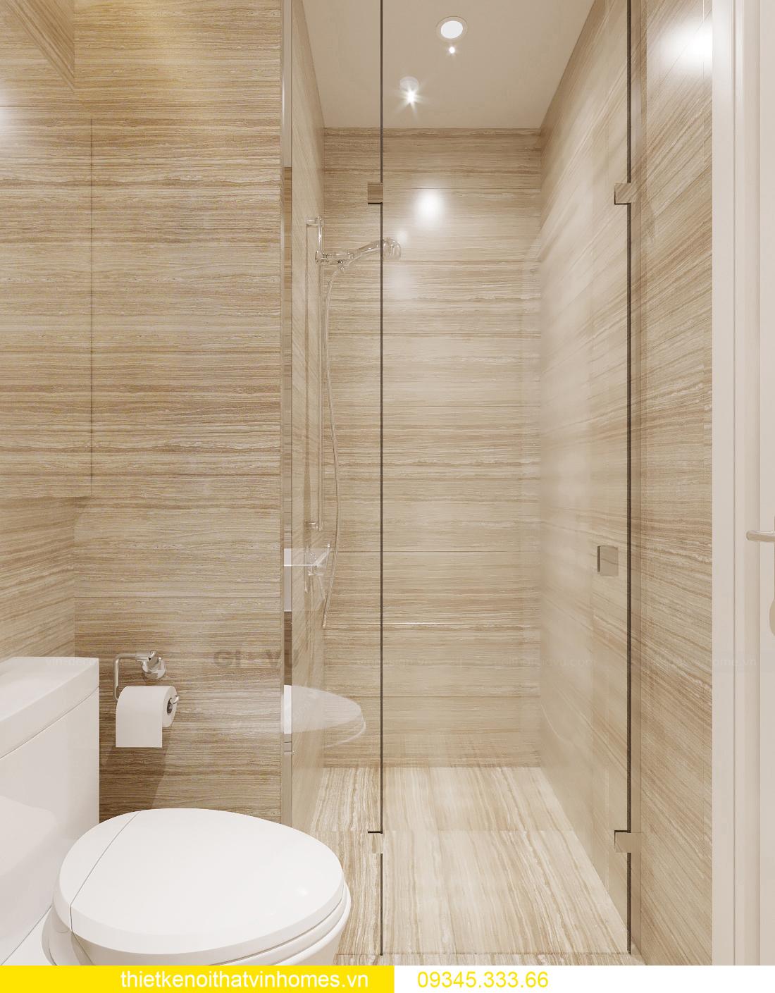 thiết kế nội thất căn hộ chung cư tân cổ điển nhà chị Như 6