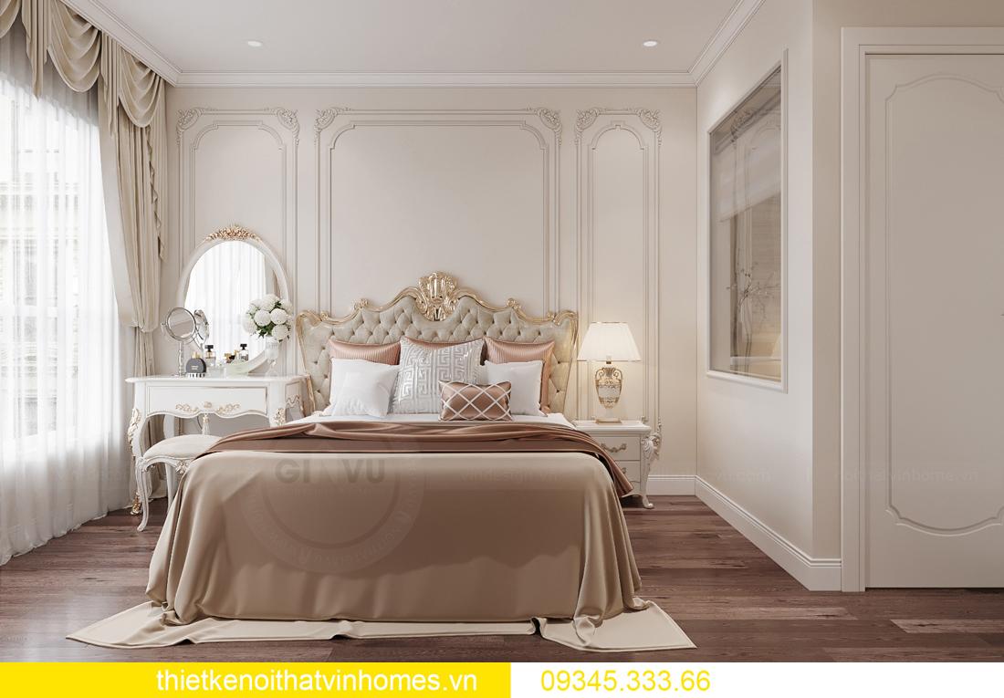 thiết kế nội thất căn hộ chung cư tân cổ điển nhà chị Như 7