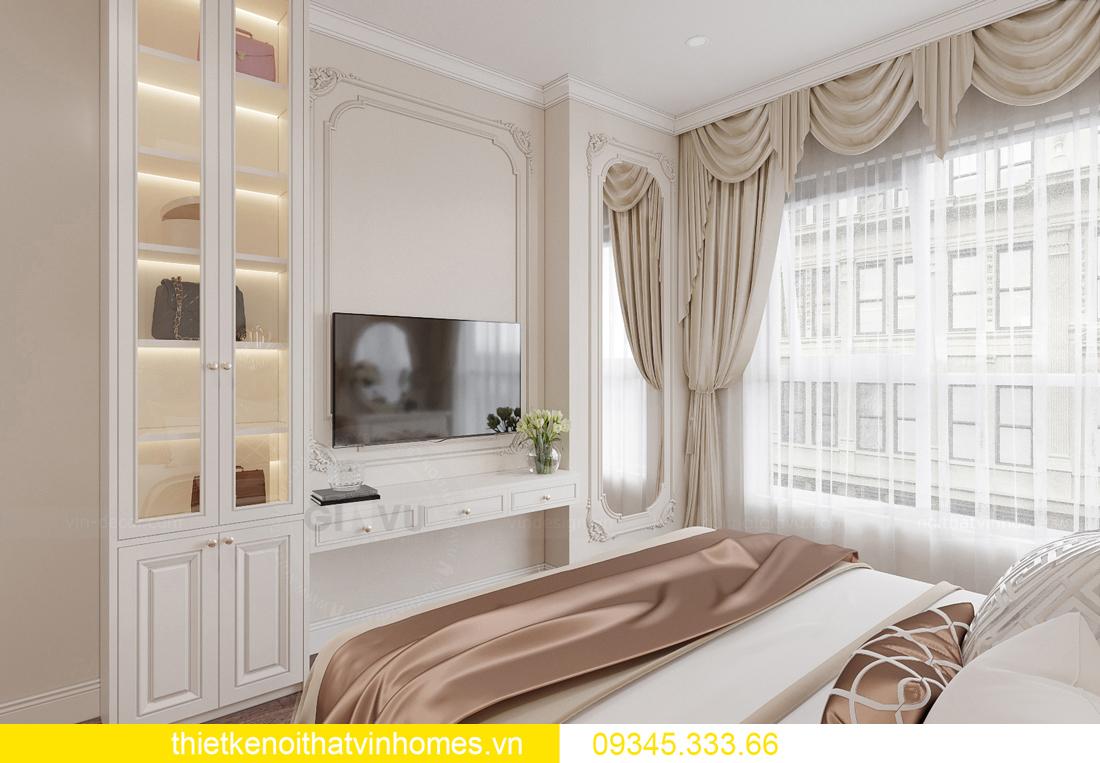 thiết kế nội thất căn hộ chung cư tân cổ điển nhà chị Như 9