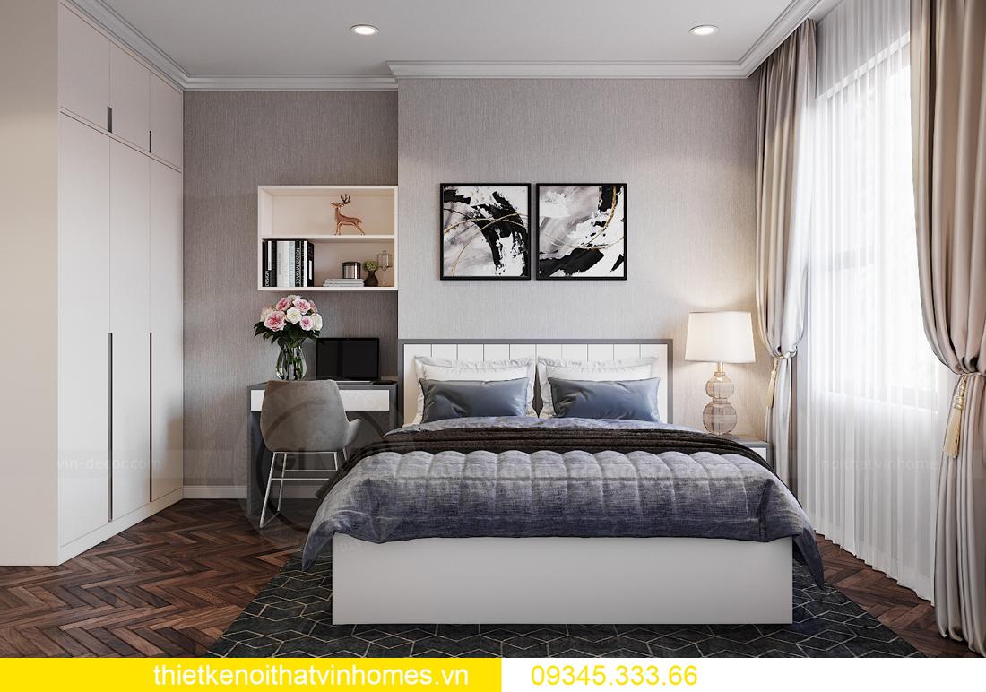 thiết kế nội thất Vinhomes Ocean Park căn hộ 3 phòng ngủ 10