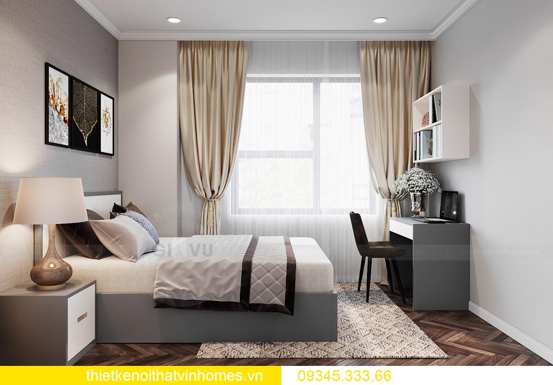 thiết kế nội thất Vinhomes Ocean Park căn hộ 3 phòng ngủ 11