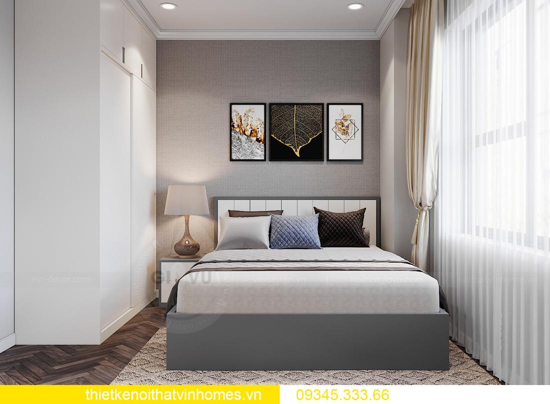 thiết kế nội thất Vinhomes Ocean Park căn hộ 3 phòng ngủ 12