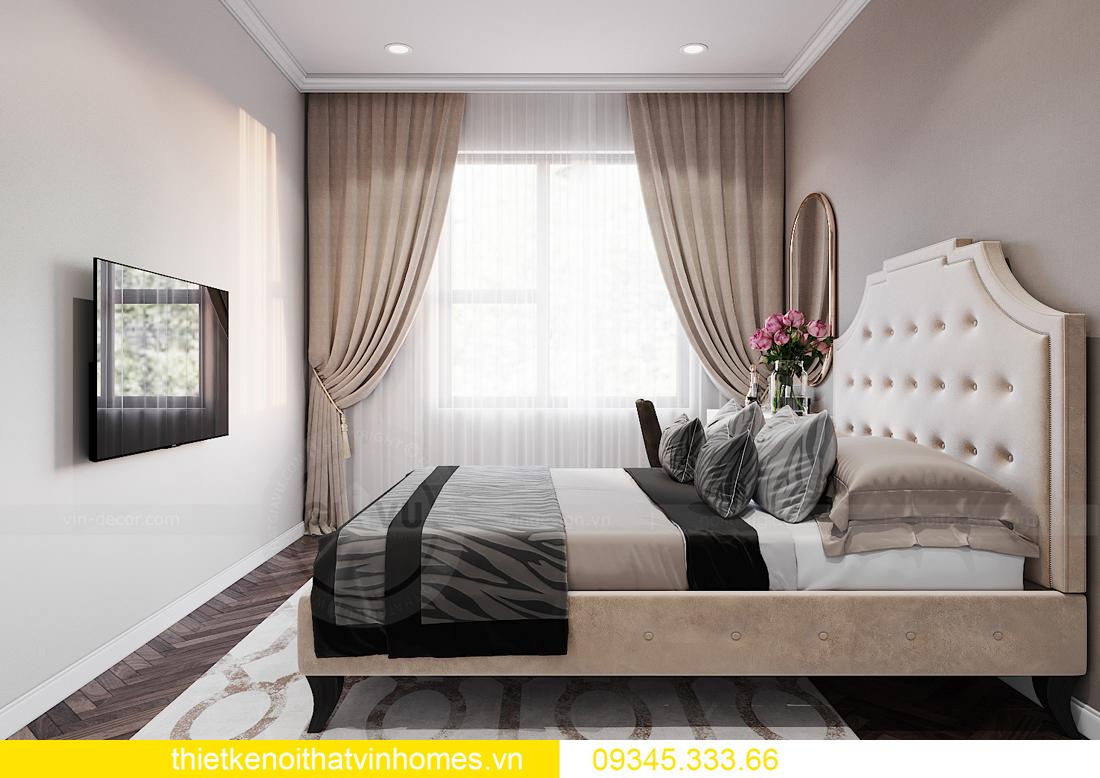 thiết kế nội thất Vinhomes Ocean Park căn hộ 3 phòng ngủ 8