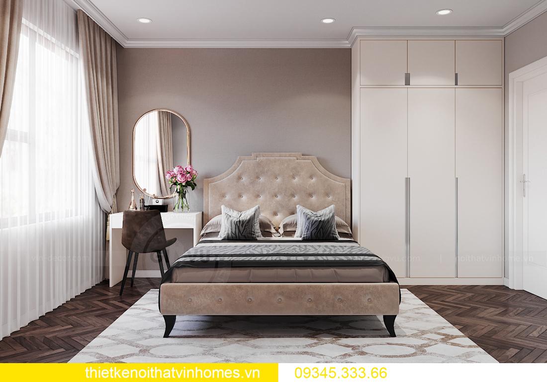 thiết kế nội thất Vinhomes Ocean Park căn hộ 3 phòng ngủ 9
