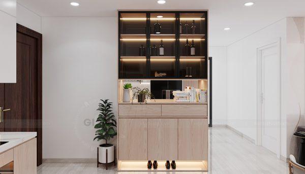 thi công nội thất chung cư Smart City tòa S202 căn hộ 10A 1