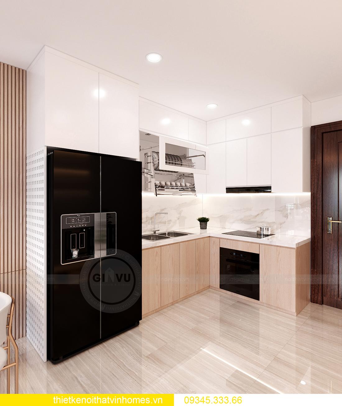 thi công nội thất chung cư Smart City tòa S202 căn hộ 10A 2