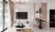 thi công nội thất chung cư Smart City tòa S202 căn hộ 10A 3