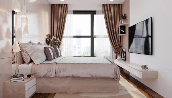 thi công nội thất chung cư Smart City tòa S202 căn hộ 10A 5