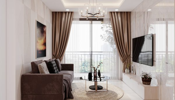 thi công nội thất chung cư Smart City tòa S202 căn hộ 10A