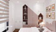 thi công nội thất chung cư Smart City tòa S202 căn hộ 10A 8