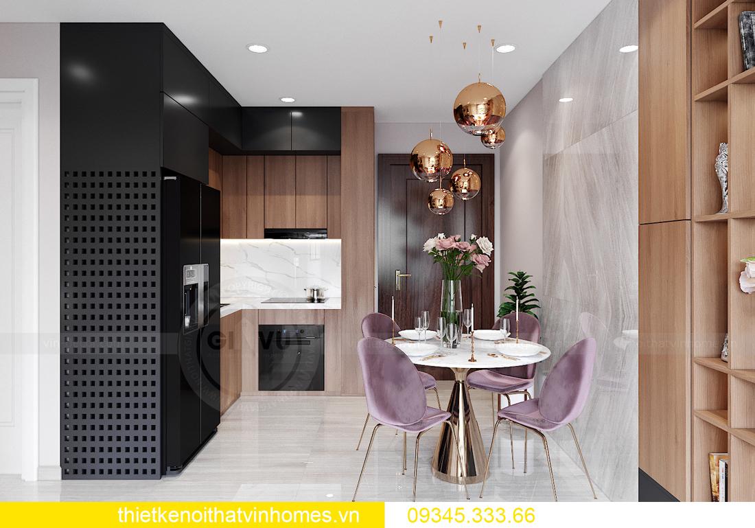 mẫu thiết kế nội thất Vinhomes Smart City tòa S2 căn hộ 17 1