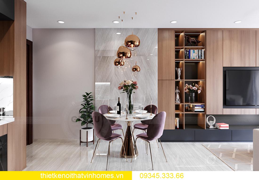 mẫu thiết kế nội thất Vinhomes Smart City tòa S2 căn hộ 17 2