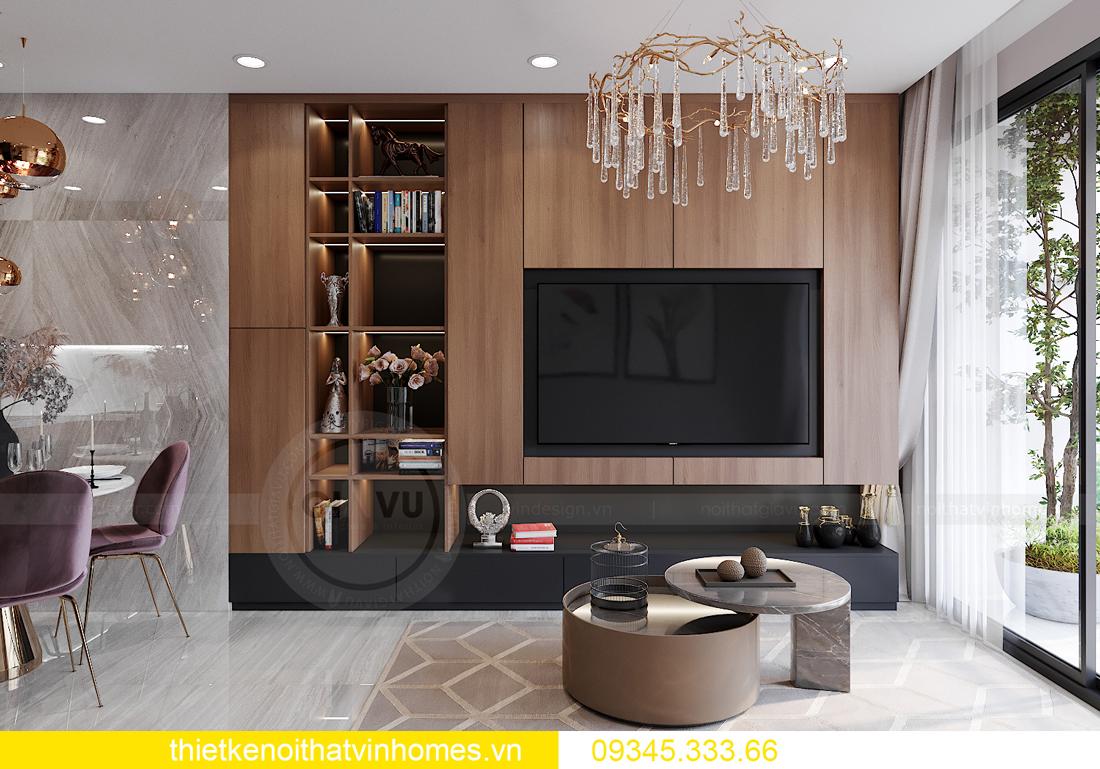 mẫu thiết kế nội thất Vinhomes Smart City tòa S2 căn hộ 17 4