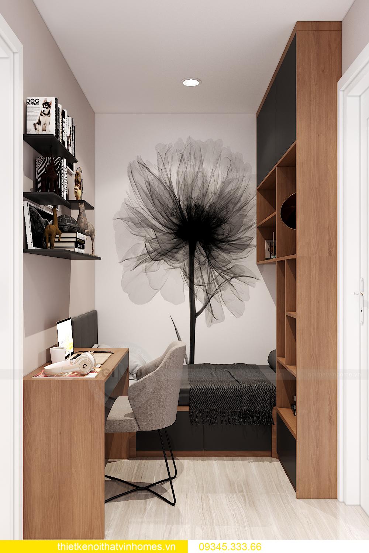 mẫu thiết kế nội thất Vinhomes Smart City tòa S2 căn hộ 17 6