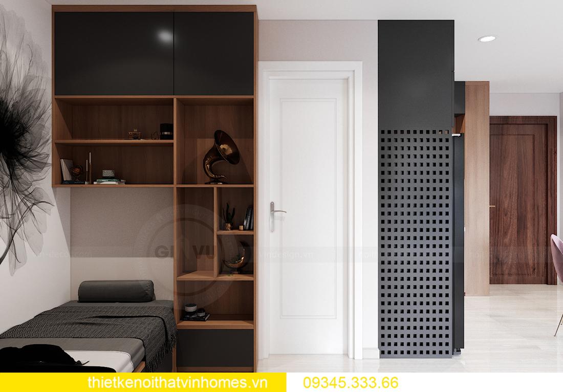 mẫu thiết kế nội thất Vinhomes Smart City tòa S2 căn hộ 17 7