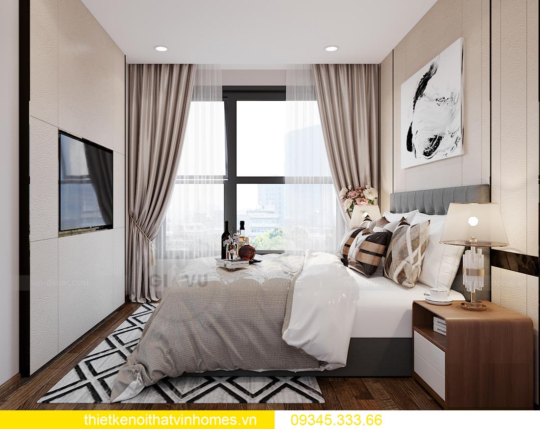 mẫu thiết kế nội thất Vinhomes Smart City tòa S2 căn hộ 17 8