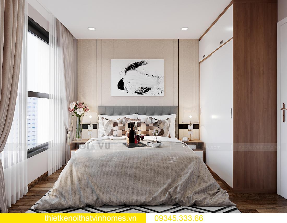 mẫu thiết kế nội thất Vinhomes Smart City tòa S2 căn hộ 17 9