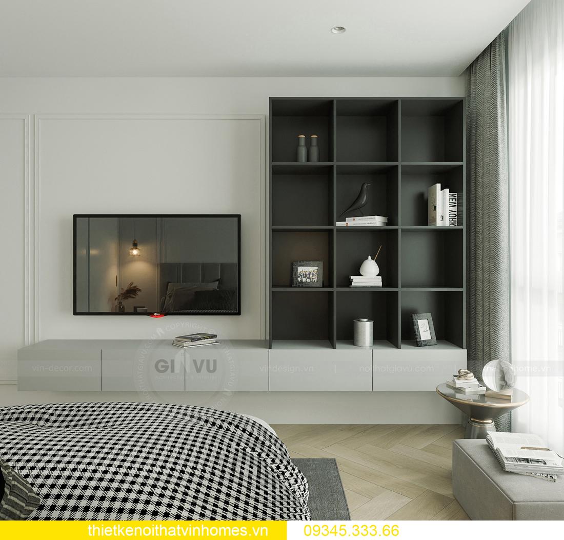mẫu thiết kế nội thất chung cư Smart City tòa S201 căn 17 10