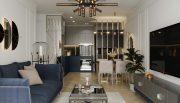 mẫu thiết kế nội thất chung cư Smart City tòa S201 căn 17