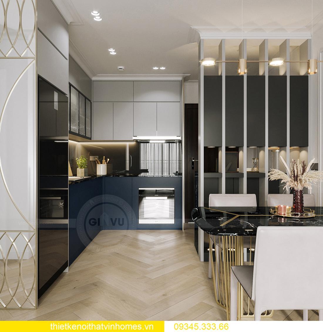 mẫu thiết kế nội thất chung cư Smart City tòa S201 căn 17 2