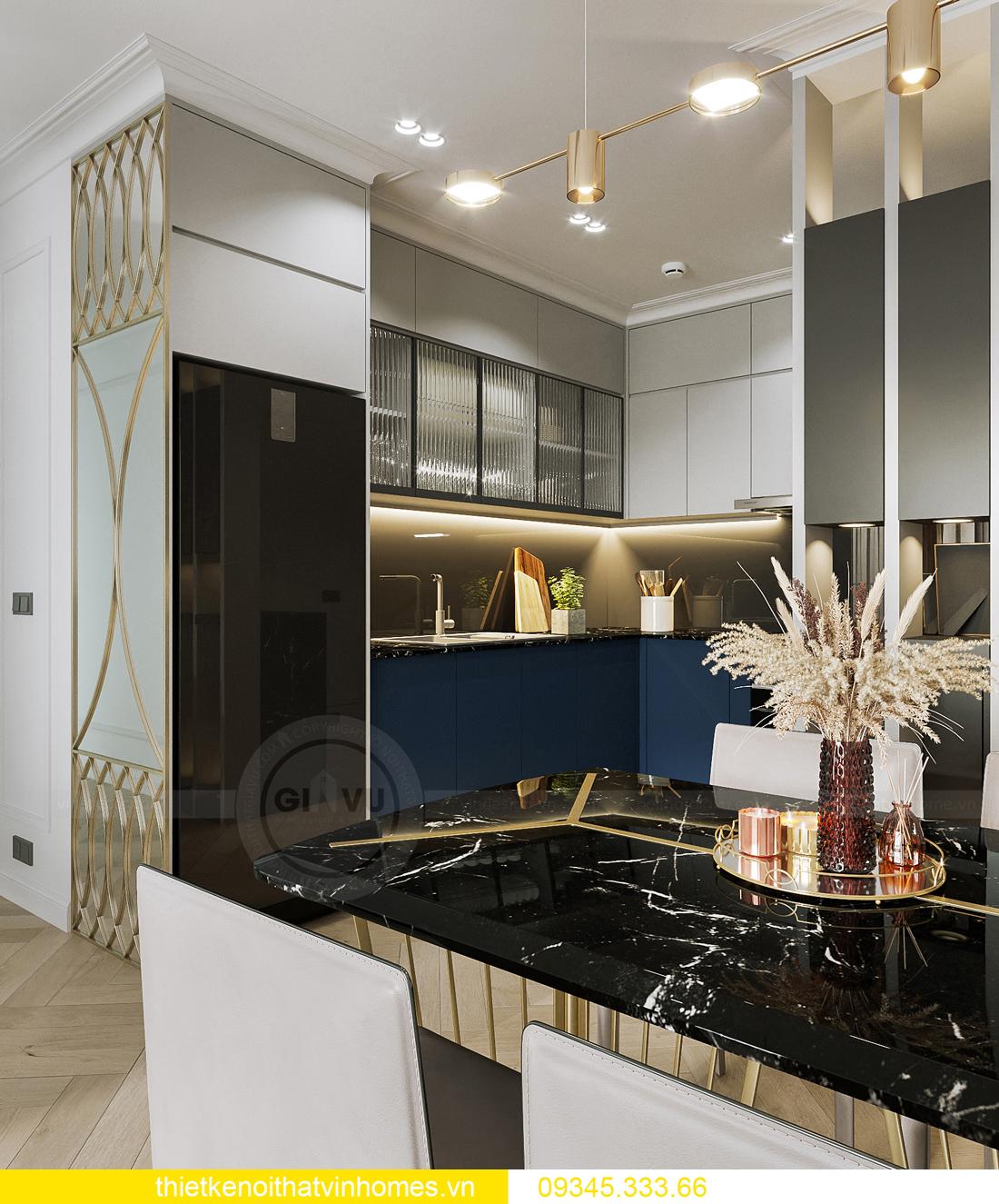 mẫu thiết kế nội thất chung cư Smart City tòa S201 căn 17 3