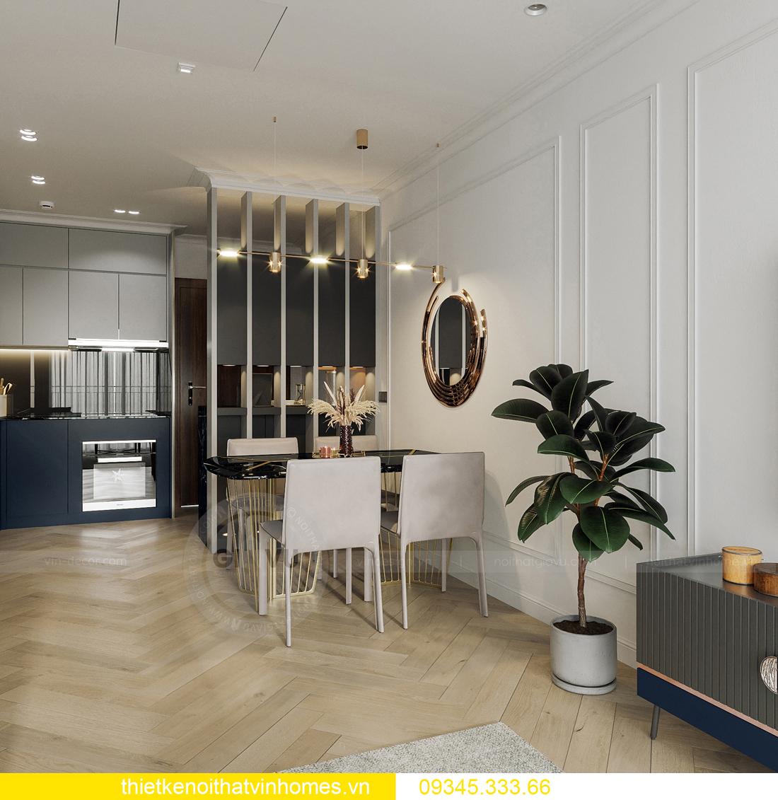 mẫu thiết kế nội thất chung cư Smart City tòa S201 căn 17 4