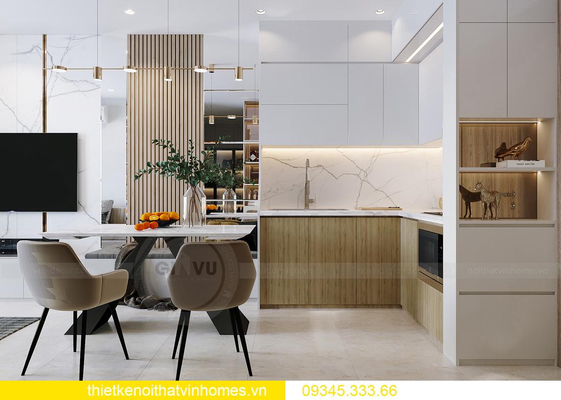 thiết kế nội thất căn hộ Vinhomes Smart City tòa S201 căn 03 1