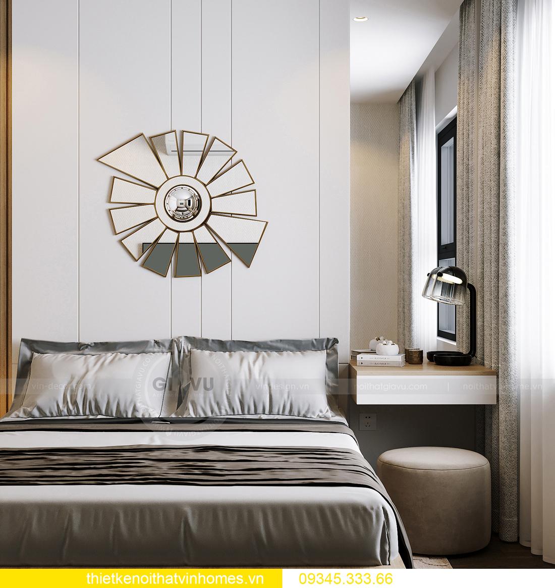 thiết kế nội thất căn hộ Vinhomes Smart City tòa S201 căn 03 10