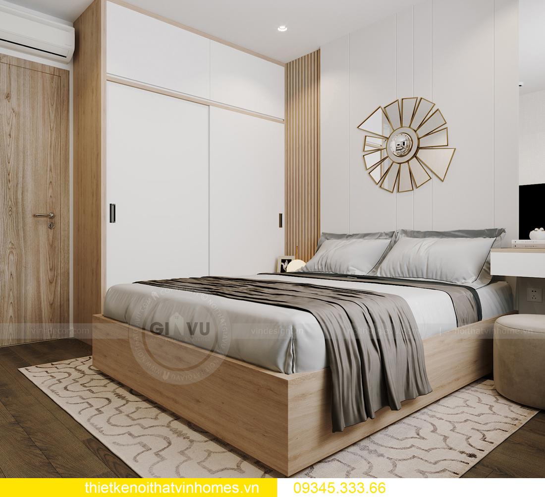 thiết kế nội thất căn hộ Vinhomes Smart City tòa S201 căn 03 11