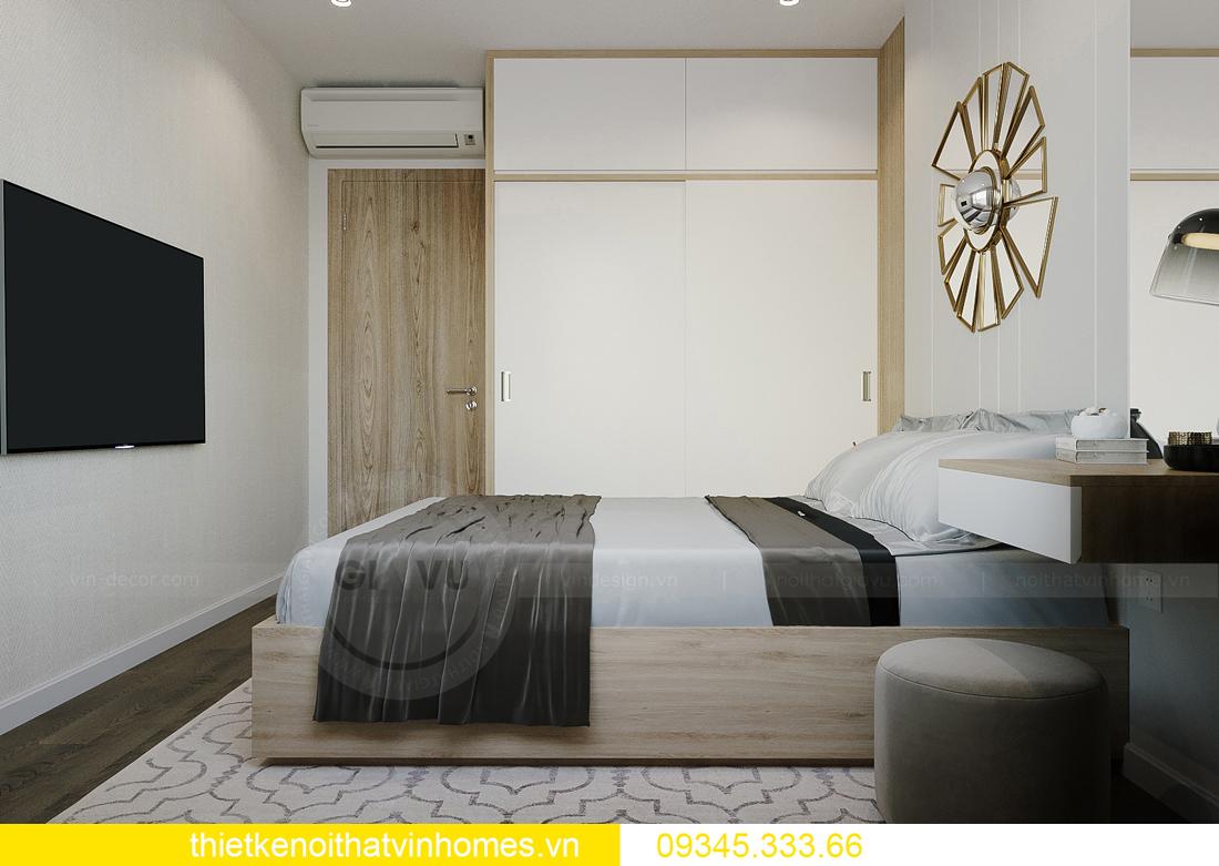 thiết kế nội thất căn hộ Vinhomes Smart City tòa S201 căn 03 12