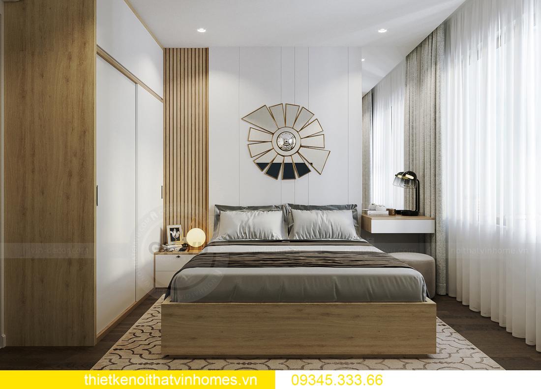 thiết kế nội thất căn hộ Vinhomes Smart City tòa S201 căn 03 8