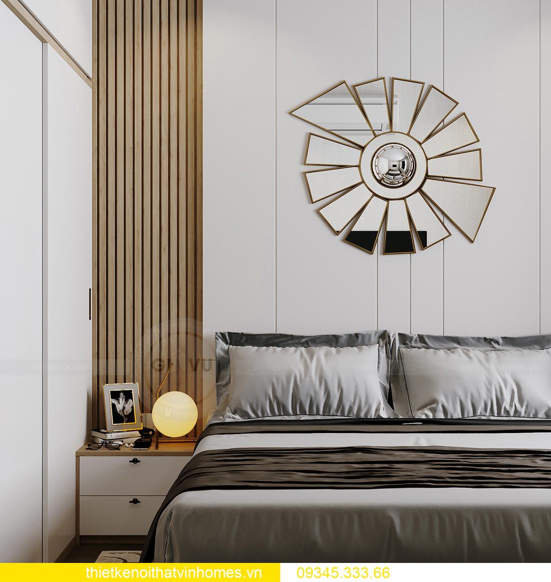 thiết kế nội thất căn hộ Vinhomes Smart City tòa S201 căn 03 9
