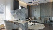 mẫu thiết kế nội thất căn hộ Smart City tòa S101 căn 11 5