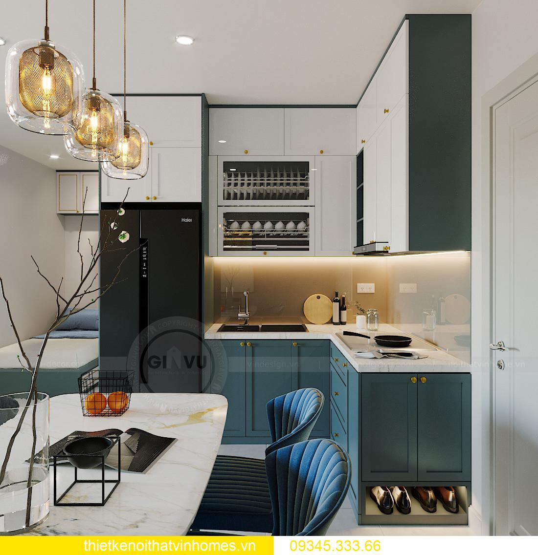 thiết kế nội thất Vinhomes Smart City tòa S201 căn 18 1