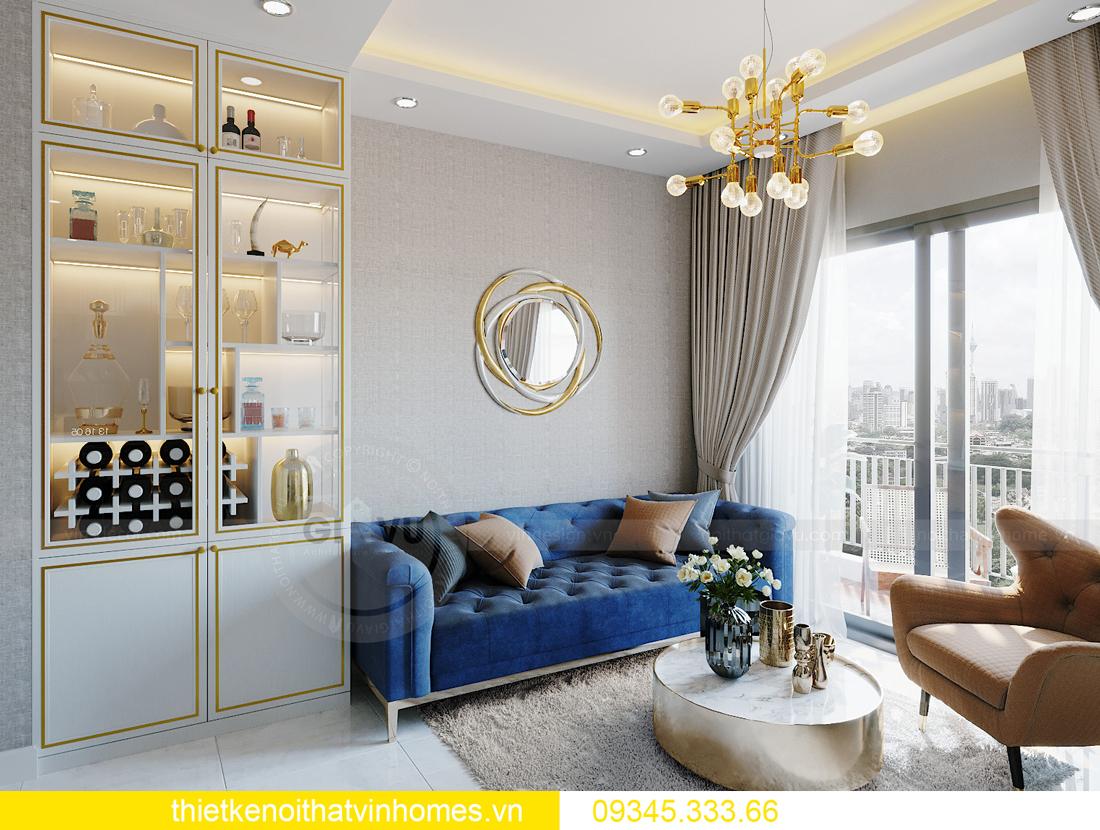 thiết kế nội thất Vinhomes Smart City tòa S201 căn 18 3