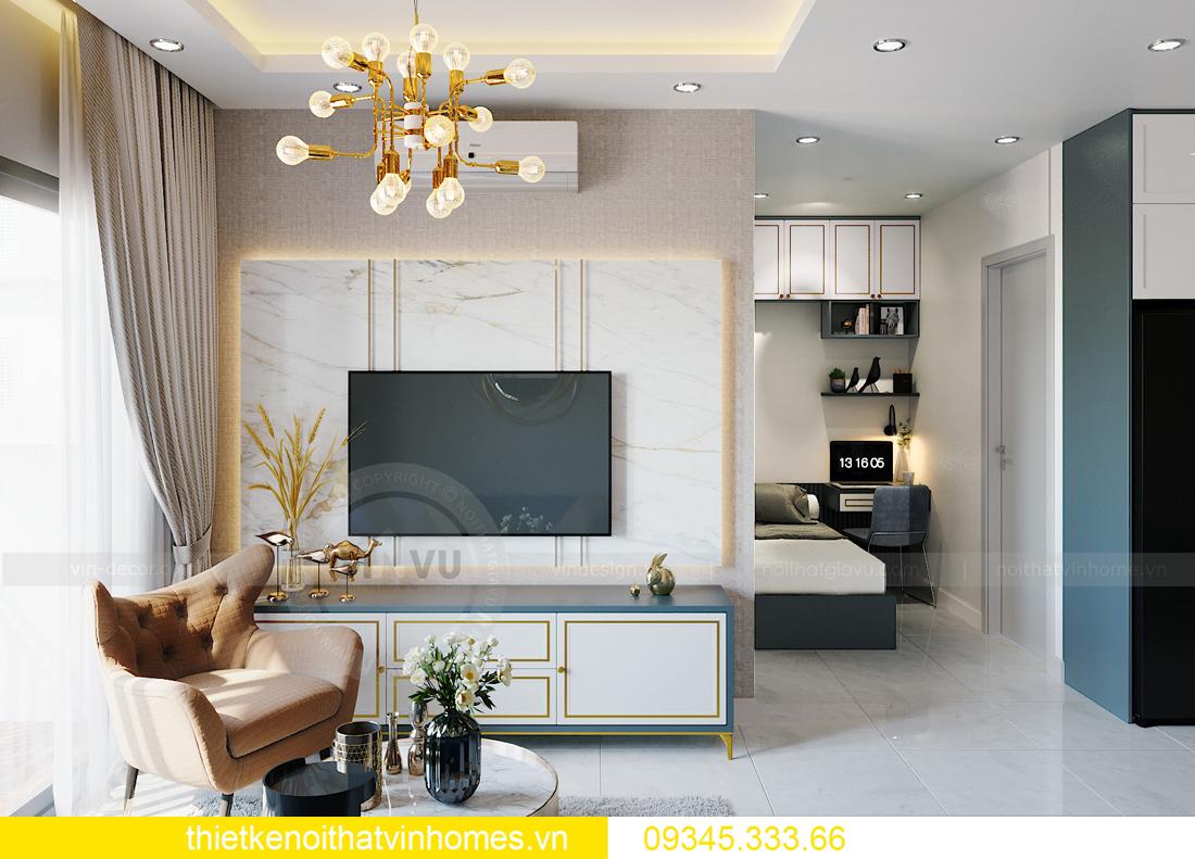 thiết kế nội thất Vinhomes Smart City tòa S201 căn 18 4