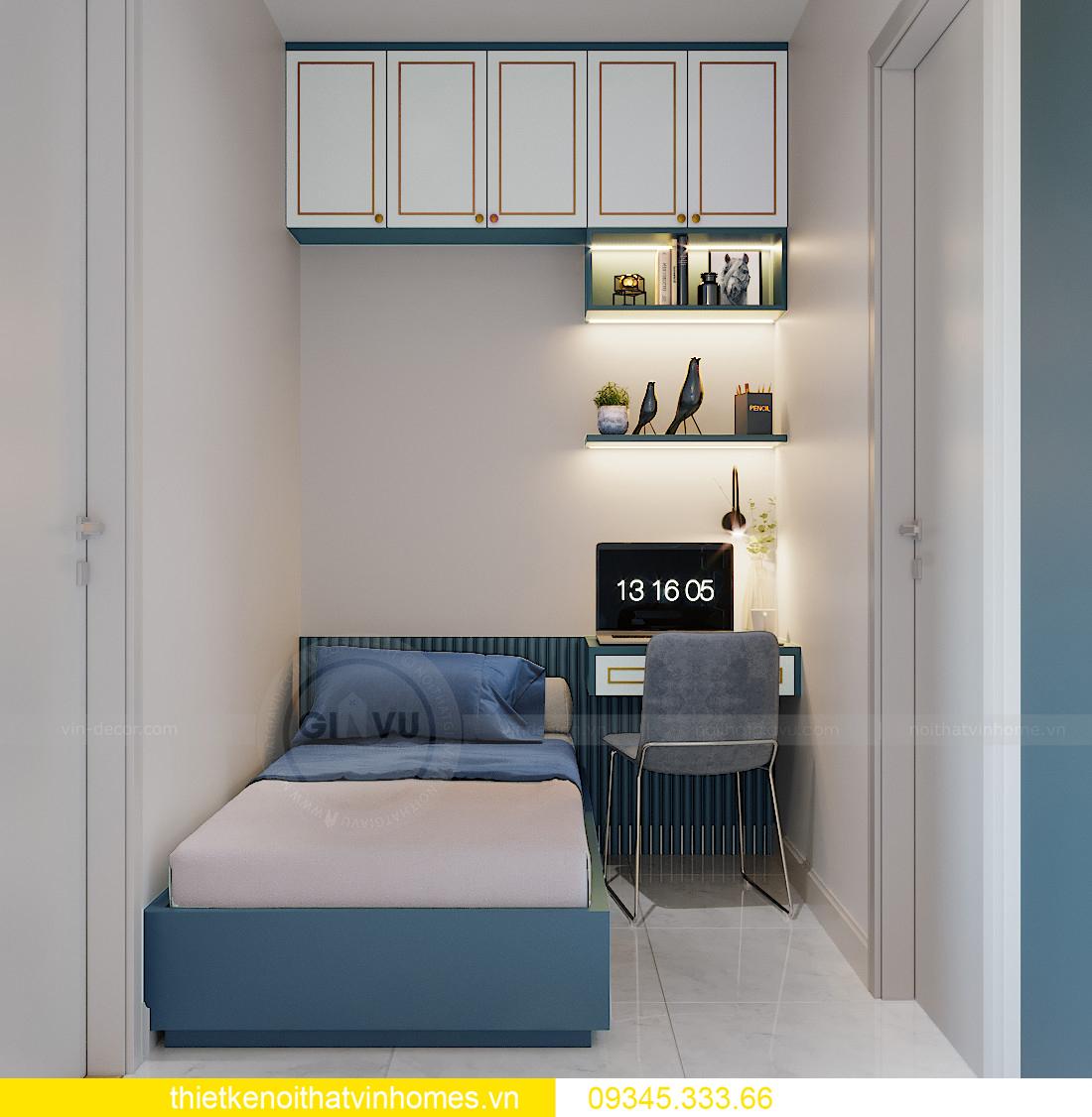 thiết kế nội thất Vinhomes Smart City tòa S201 căn 18 5