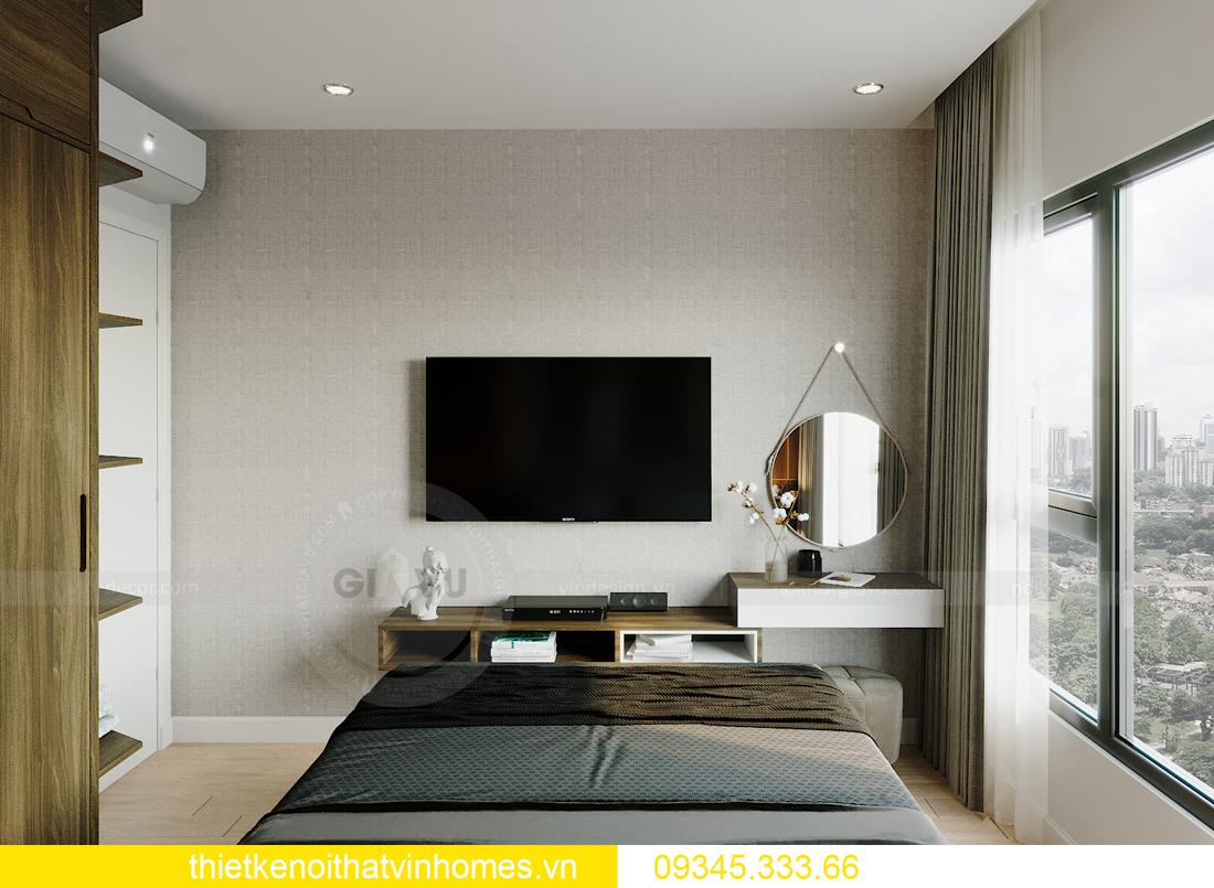 thiết kế nội thất Vinhomes Smart City tòa S201 căn 18 6