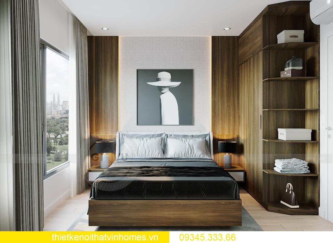thiết kế nội thất Vinhomes Smart City tòa S201 căn 18 7