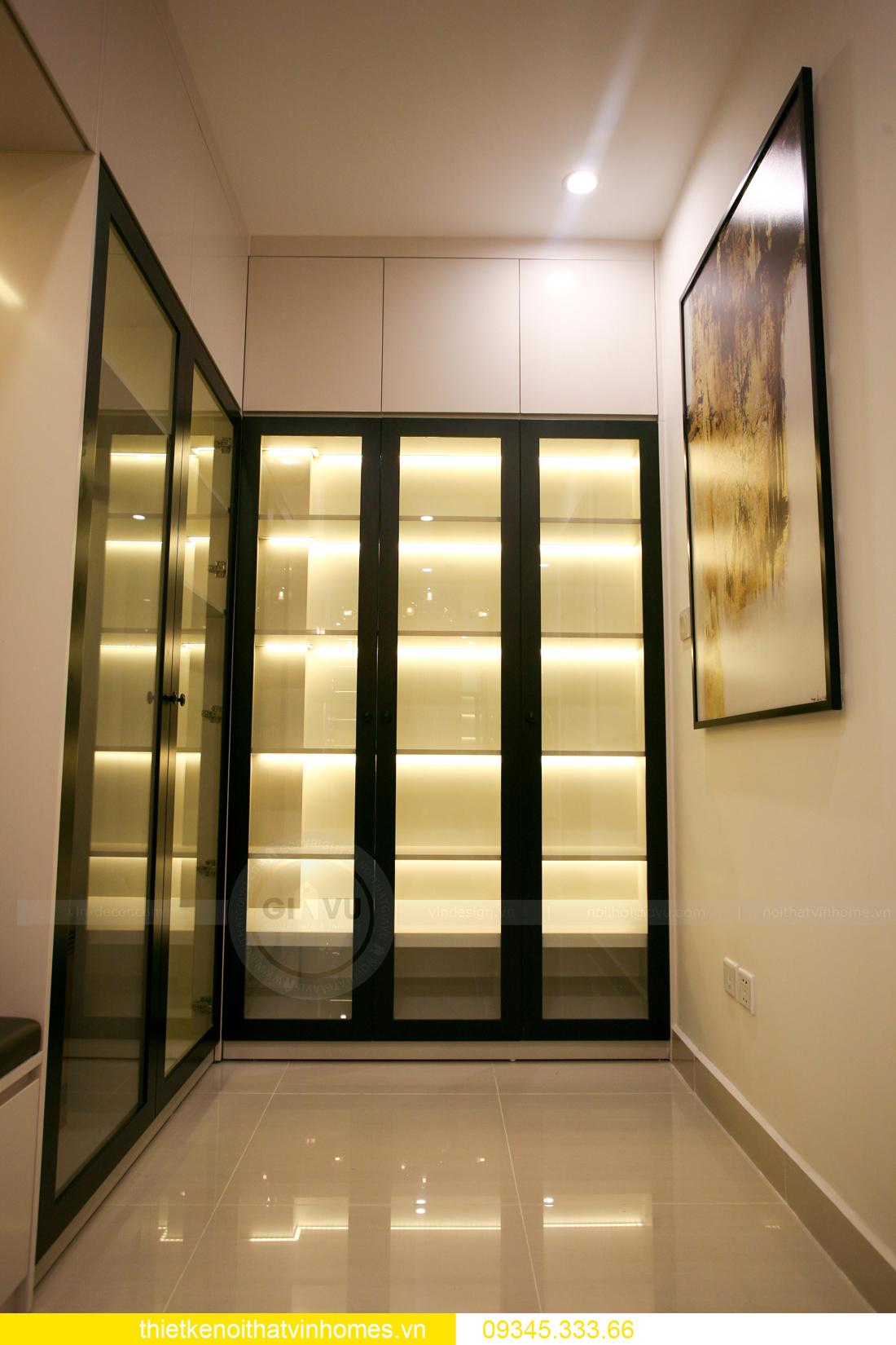 thiết kế thi công nội thất căn hộ Smart City nhà anh Hòa 11