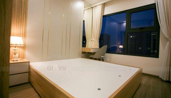 thiết kế thi công nội thất căn hộ Smart City nhà anh Hòa 12