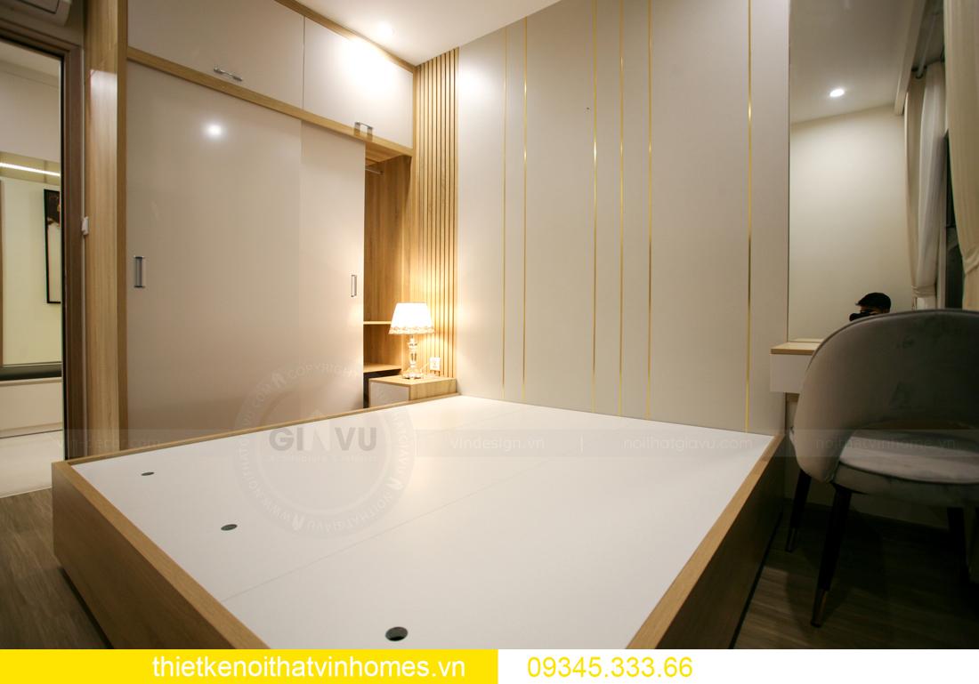 thiết kế thi công nội thất căn hộ Smart City nhà anh Hòa 13