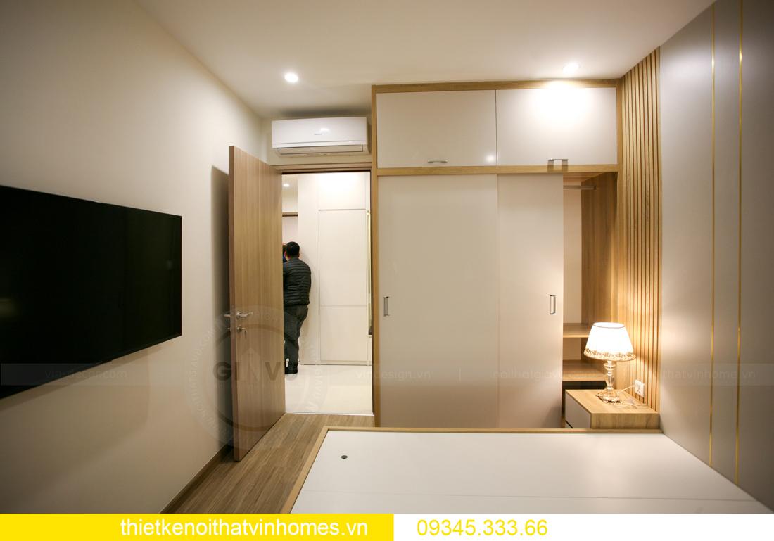 thiết kế thi công nội thất căn hộ Smart City nhà anh Hòa 14