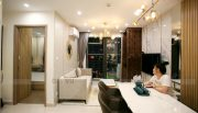 thiết kế thi công nội thất căn hộ Smart City nhà anh Hòa 3