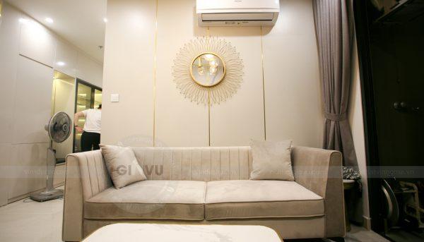 thiết kế thi công nội thất căn hộ Smart City nhà anh Hòa 6