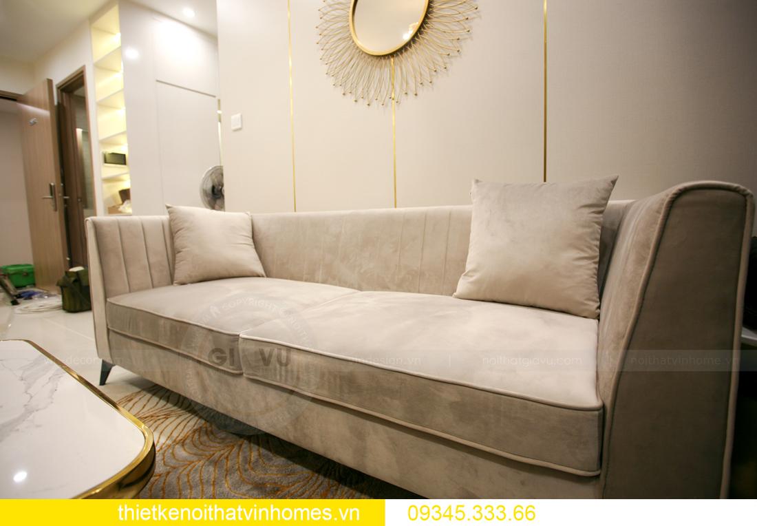 thiết kế thi công nội thất căn hộ Smart City nhà anh Hòa 7